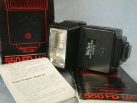 ' 550 BOXED  ' Vivitar 550 Camera Flash Boxed   + Inst   £4.99
